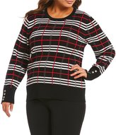 Investments Plus Long Sleeve Crew Neck Sweater