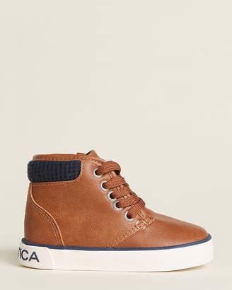 Nautica Toddler Boys) Tan Flint High-Top Sneakers