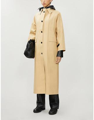 Selfridges Hooded woven trench coat