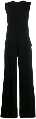 McQ Swallow Pleated Jumpsuit