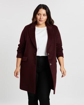 Atmos & Here Vivian Wool-Blend Coat