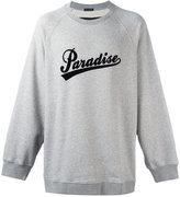 Marc Jacobs Paradise print sweatshirt - men - Cotton/Polyester - S