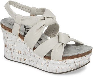 OTBT Far Side Knotted Wedge Sandal
