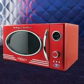Nostalgia Electrics Retro Series 0.9 CF Microwave Oven in Red