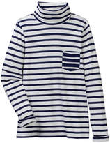 J.Crew J. Crew Maddy Stripe Turtleneck Tee (Toddler & Big Girls)