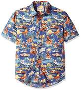 Margaritaville Men's Short Sleeve Cutie Print Shirt