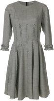 Marco De Vincenzo frill trim dress - women - Spandex/Elastane/Viscose/Wool - 42