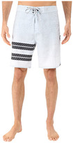 "Hurley Phantom Block Party Sig Zane 19"" Boardshorts"