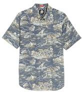 Reyn Spooner Men's Laupakahi Modern Fit Print Shirt