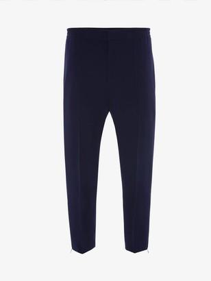 Alexander McQueen Sports Crepe Pants