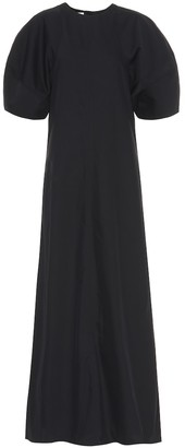 Co Cotton-blend twill maxi dress