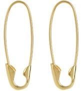 LOREN STEWART Yellow-gold earrings