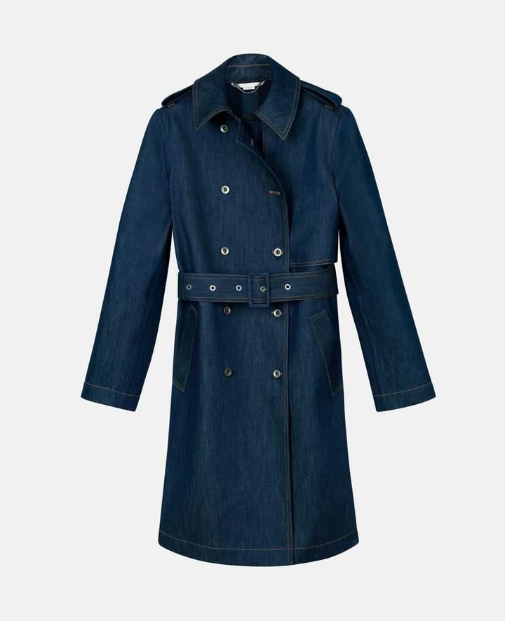 Stella McCartney denim trench coat