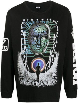 Kokon To Zai Membership long-sleeved T-shirt