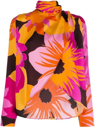 Roseanna Lee Coline draped blouse