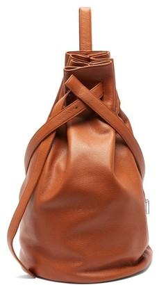Tsatsas Kilo Grained-leather Shoulder Bag - Womens - Tan