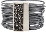 Kenneth Cole New York Sprinkle Stone Magnetic Multi-Row Bracelet