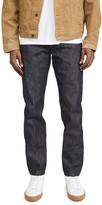 Naked & Famous Denim Chinese New Year Metal Rat Weird Guy Jeans