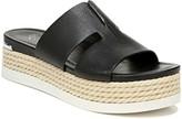 Franco Sarto Leather Platform Sandals - Kenny