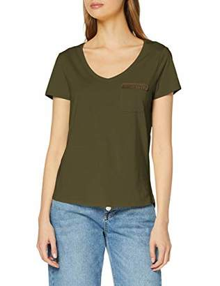 S'Oliver Women's 14.904.32.6072 T-Shirt, (Pure Yellow 1390), 14 (Size: )