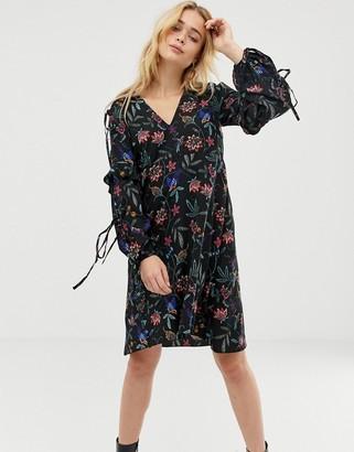 Vero Moda Floral Cold Shoulder Dress