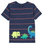 George Striped Dinosaur T-shirt