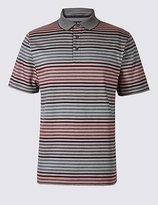 Big & Tall Pure Cotton Striped Polo Shirt