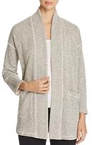 Eileen Fisher Textured Knit Kimono Jacket