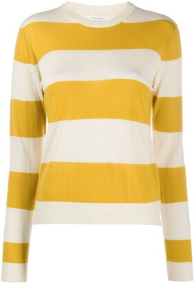 Chinti and Parker x Issimo striped cashmere pullover