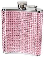 Oggi Glitz Hip Flask w/Funnel - Pink