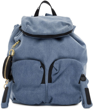 See by Chloe Blue Denim Joy Rider Backpack