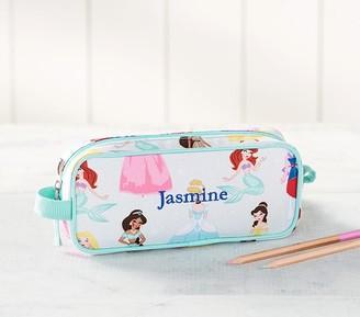 Pottery Barn Kids Mackenzie Aqua Disney Princess Pencil Case