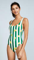 Solid & Striped The Anne-Marie Lemons One Piece Swimsuit