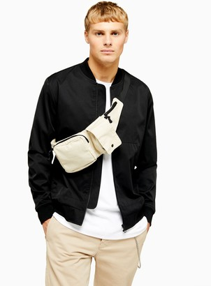 Topman Black Icon Bomber Jacket