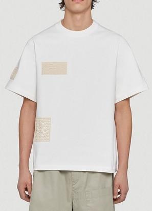Jil Sander Crochet Short-Sleeved T-Shirt