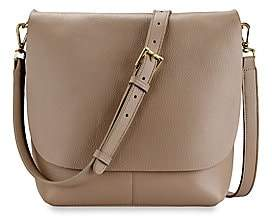 GiGi New York Women's Andi Leather Crossbody Bag