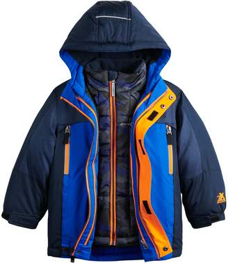 ZeroXposur Boys' 4-7 Juvi Trevor System Jacket