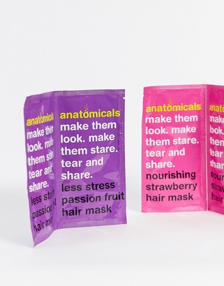 Anatomicals Tear and Share Hair Mask Pack