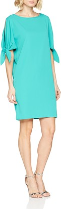 Gina Bacconi Women's Mireya Tie Sleeve Party Dress