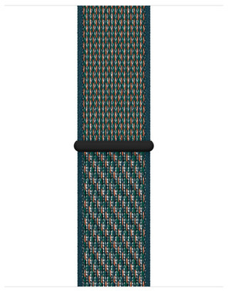 Apple 40mm Hyper Crimson/Neptune Green Nike Sport Loop
