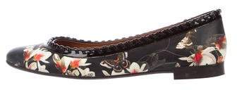 Givenchy Butterfly Magnolia Leather Flats