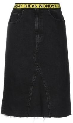 Cheap Monday Denim skirt