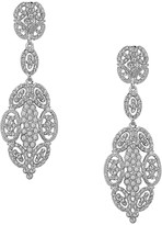 Nina Jewelry Glamorous Swarovski Statement Earrings