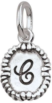 Persona PersonaPhi Sterling Silver Charm Script Initial Collection