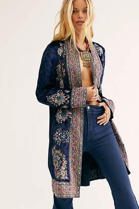 Free People Stevie Jacket by Free People, Midnight Shimmer, XS