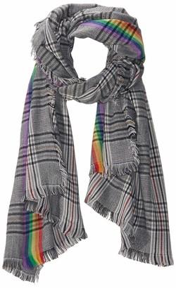 Collection Xiix Ltd. Collection XIIX Women's Woven Plaid wrap