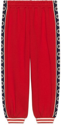 Gucci Children's cotton jogging pant with Interlocking G