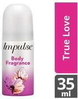 Impulse True Love Body Spray 35ml