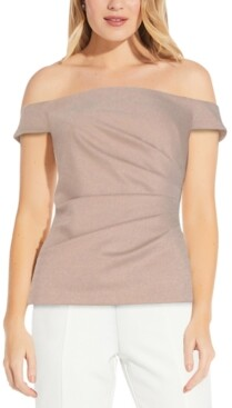 Adrianna Papell Off-The-Shoulder Top