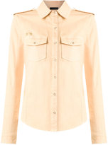 Talie Nk - long sleeves shirt - women - Cotton/Spandex/Elastane - M